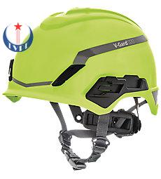 Mũ bảo hộ V-Gard® H1, Novent, Hi-Viz Yellow/Green, Fas-Trac® III Pivot, ANSI, EN397