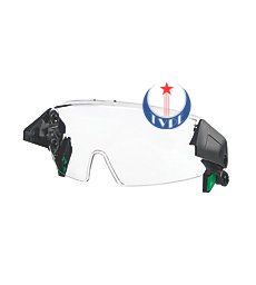 CLEAR HALF-FACE SPECTACLE, V-GARD H1