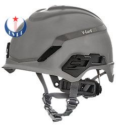 Mũ bảo hộ V-Gard® H1, Novent, Gray, Fas-Trac® III Pivot, ANSI, EN397