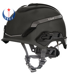 Mũ bảo hộ V-Gard® H1, Novent, Black, Fas-Trac® III Pivot, ANSI, EN397